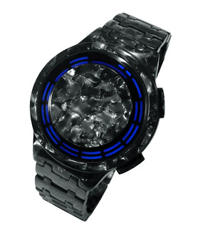 Kisai RPM Acetate Graphite LED Watch Design | by Tokyoflash Japan