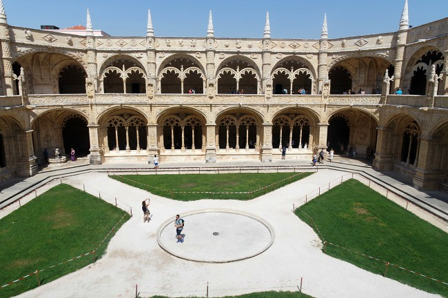Lisbona - Belem, Monasteiro dos Joronimos (5)