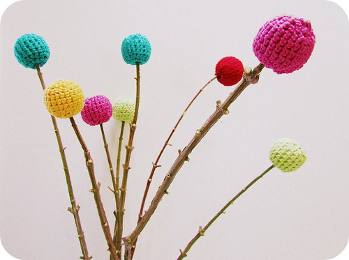 "Crocheted ""Flowers"" 