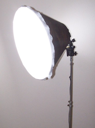 DIY Lampshade Softbox angle | by Aud1073cH