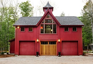 Carriage House Garage Doors | by Yankee Barn Homes