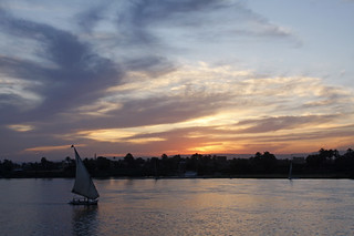 Our first sunset on the Ra II on the Nile | by joysmith7mr