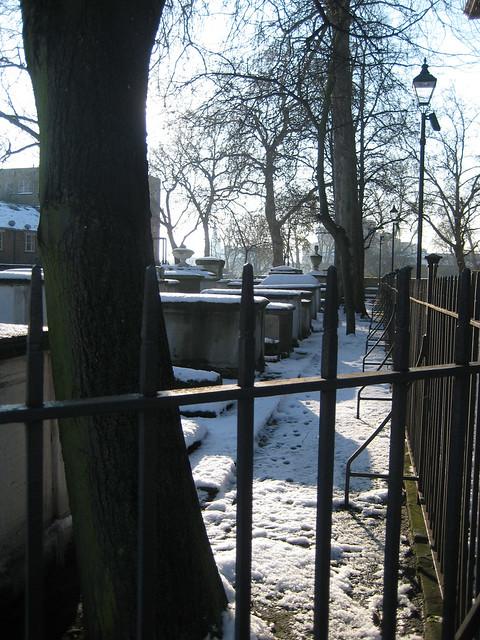 St John at Hackney Churchyard Gardens