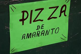 Amaranth pizza | by arimou0