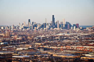 Chicago Skyline | by vxla