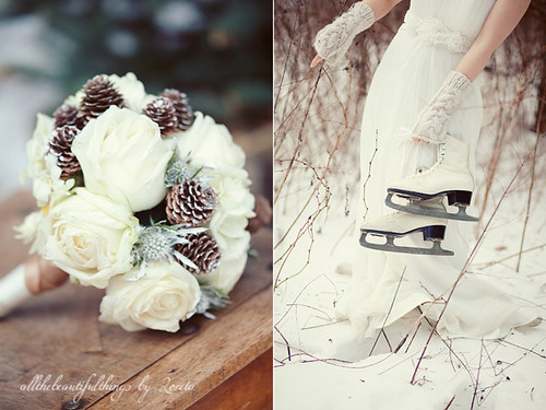 Vintage Winter Wedding | by loretoidas