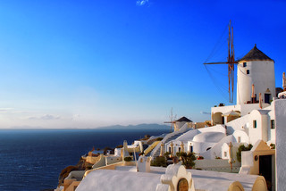 JEKA Photography: Windmills of Oia Santorini (Thira) Greece. (Explore!) Santorini / Thira / Greece / Windmill / Aegean / Mediterranean | by Jeff Rose Photography