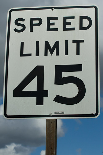 Speed Limit 45 | by Carbon Arc