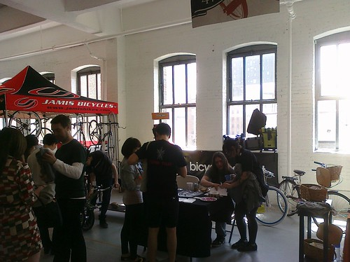 Boothin' it up in Chelsea @NewAmBikeShow | by Bicycle Habitat