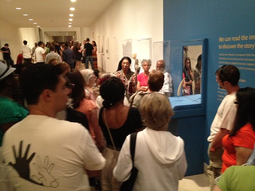 Dr. Roslyn Walker leading a tour of our African works of art. | by Dallas Museum of Art