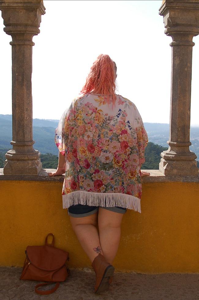 Outfit shorts e kimono handmade (7)