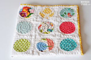 Applique Circle Quilt | by claremansell