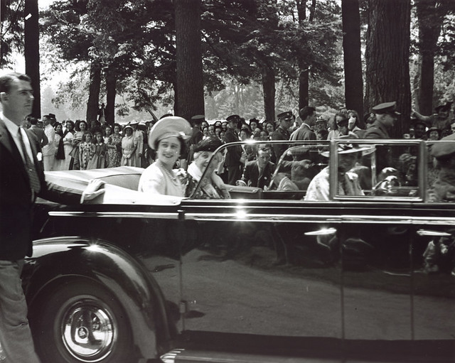 1939 Royal Visit - Hyde Park, NY
