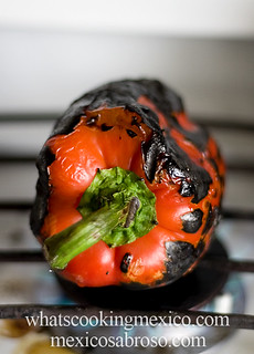 Roasting bell peppers | by arimou0