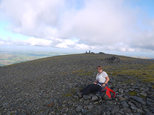 Top of Skiddaw