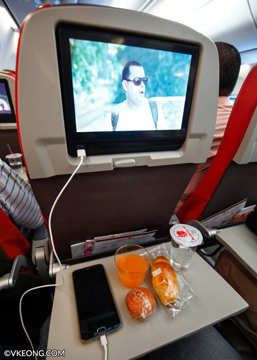 Malindo Flight Experience