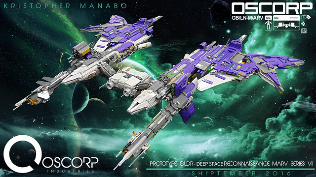 OSCORP- PROTOTYPE GLDR- DEEP SPACE RECONNAISSANCE MARV SERIES VII