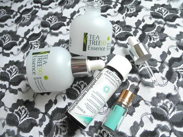 Skincare Empties Acne Serum Akinicare LJH Kitoko Kalani