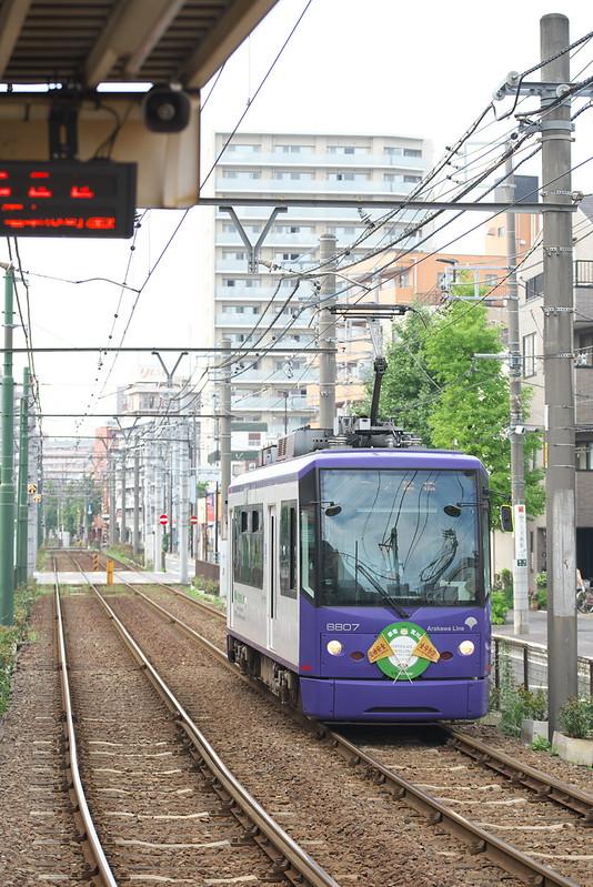 Tokyo Train Story 都電荒川線 2016年9月25日