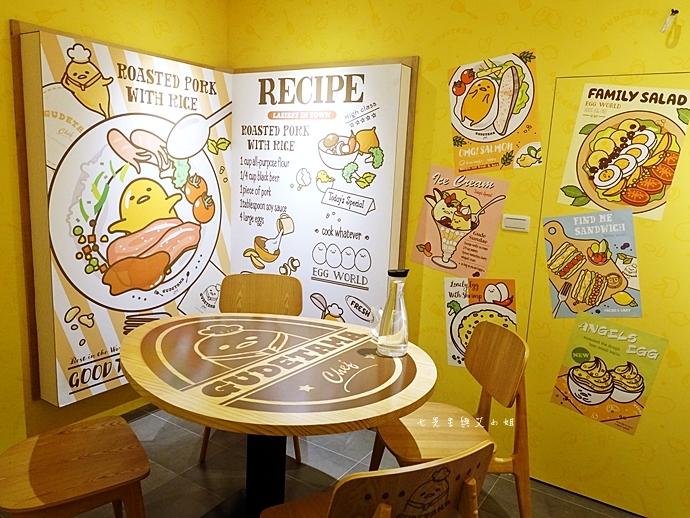 21 Gudetama Chef 蛋黃哥五星主廚餐廳 台北東區美食