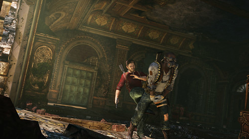 Uncharted 3: chateau kick | by PlayStation.Blog