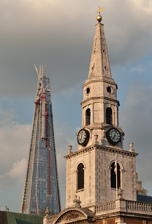 St George the Martyr and the shard | by »WOLFE«