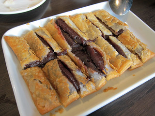 Fried Pancake with Red Bean Paste | by su-lin