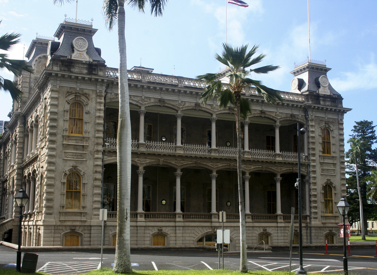 Iolani Palace. From Digging Deeper into Hawaiian History on the Hawai'i Monarchs Tour