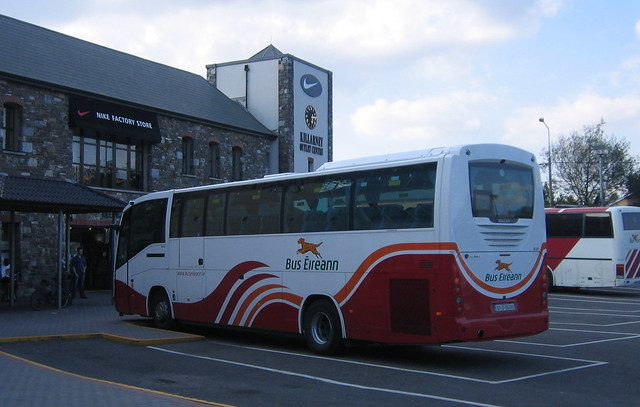 SC235 at Killarney bus station
