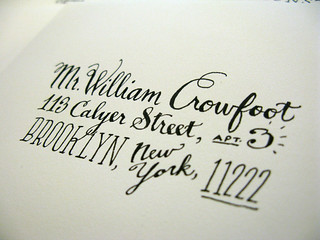 Hand-Drawn Addresses | by LadyfingersLetterpress