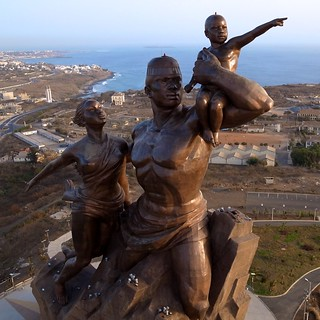 African Renaissance Monument - From Above | by Jeff Attaway