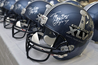 Super Bowl XLV Helmets | by Wade Griffith