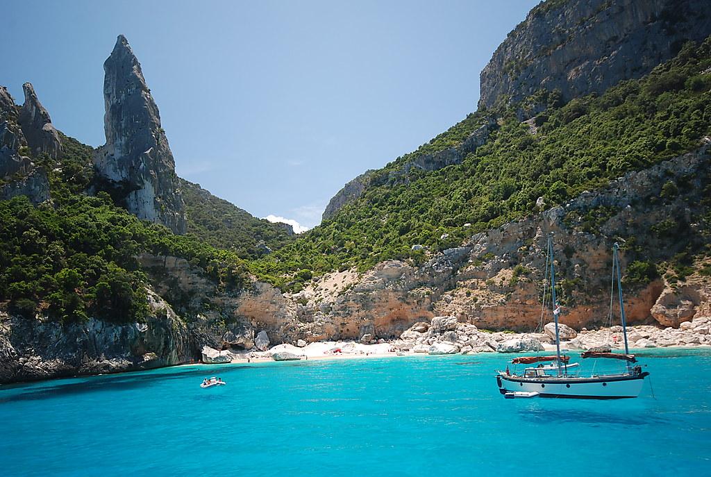 Cala Goloritze, Italy. Europe most beautiful beaches.