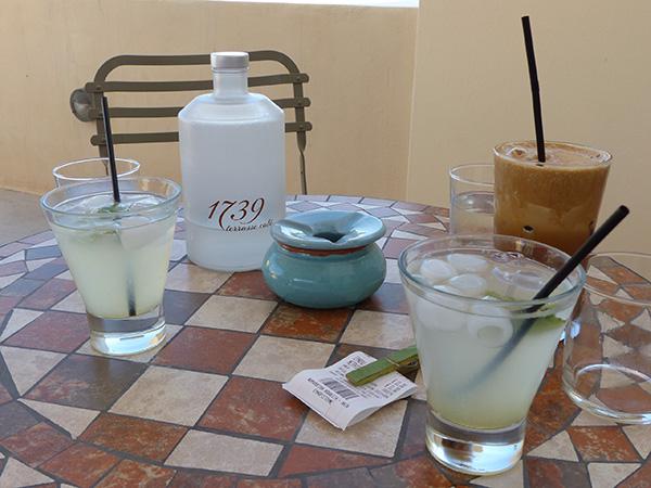 limonade fraîche et café frappé