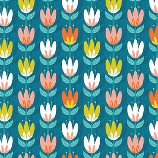 Daily Pattern - Tulip | by Alyssa Nassner
