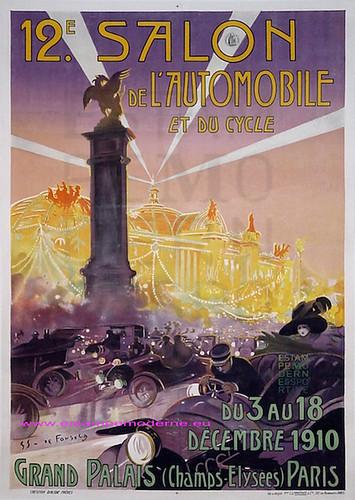 De fonseca 12e salon cycles automobile 1910 grand palais flickr - Salon de l invention paris ...