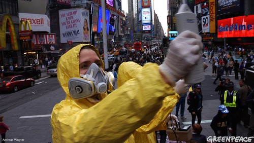Times Square Radiation Check | by Greenpeace USA 2016
