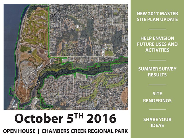 Chambers Creek Regional Park Updated - October 5, 2016