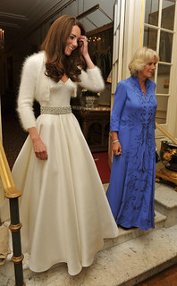 The Duchess of Cambridge and The Duchess of Cornwall | by The British Monarchy