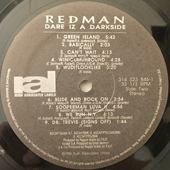 REDMAN:DARE IZ A DARKSIDE(LABEL SIDE-B)