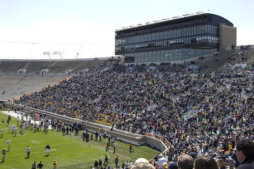 University of Notre Dame - Spring Game 2012 | by gbozik photography