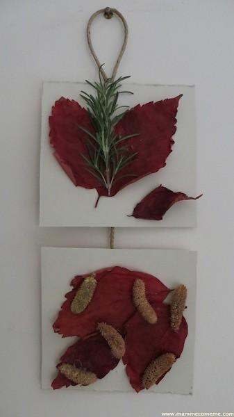 Lavoretti dell'autunno: decorazione