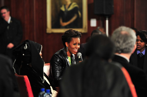 Michelle Obama visits UCT