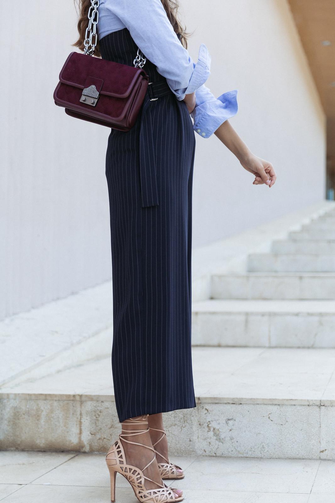 Jessie Chanes Seams for a desire - Pinstripped suit topshop heeled sandals schutz parfois bag  -4