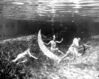 Underwater New Year's at Rainbow Springs: Rainbow Springs, Florida | by State Library and Archives of Florida