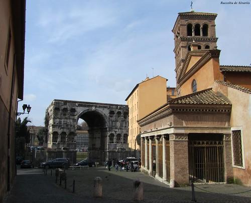 1855 ca 2011 san giorgio al velabro e l 39 arco di giano flickr for Arco arredamenti san giorgio