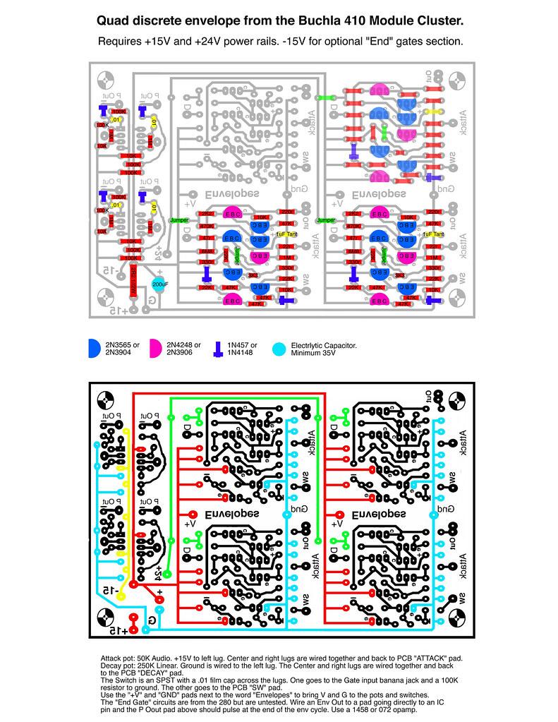 410 Quad Env Parts