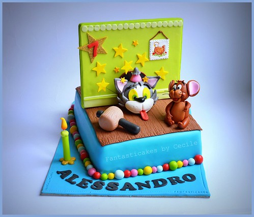Tom and Jerry Cake | by Fantasticakes (Cécile)