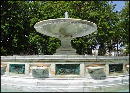 McElroy Fountain Restored | by Ken L. Katz