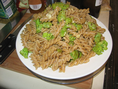 Heaven and hell cauliflower pasta   IE, this recipe, with ad ...
